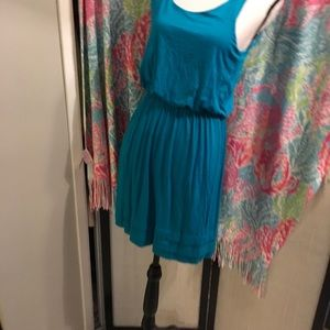 ❤️Lush Peacock color dress